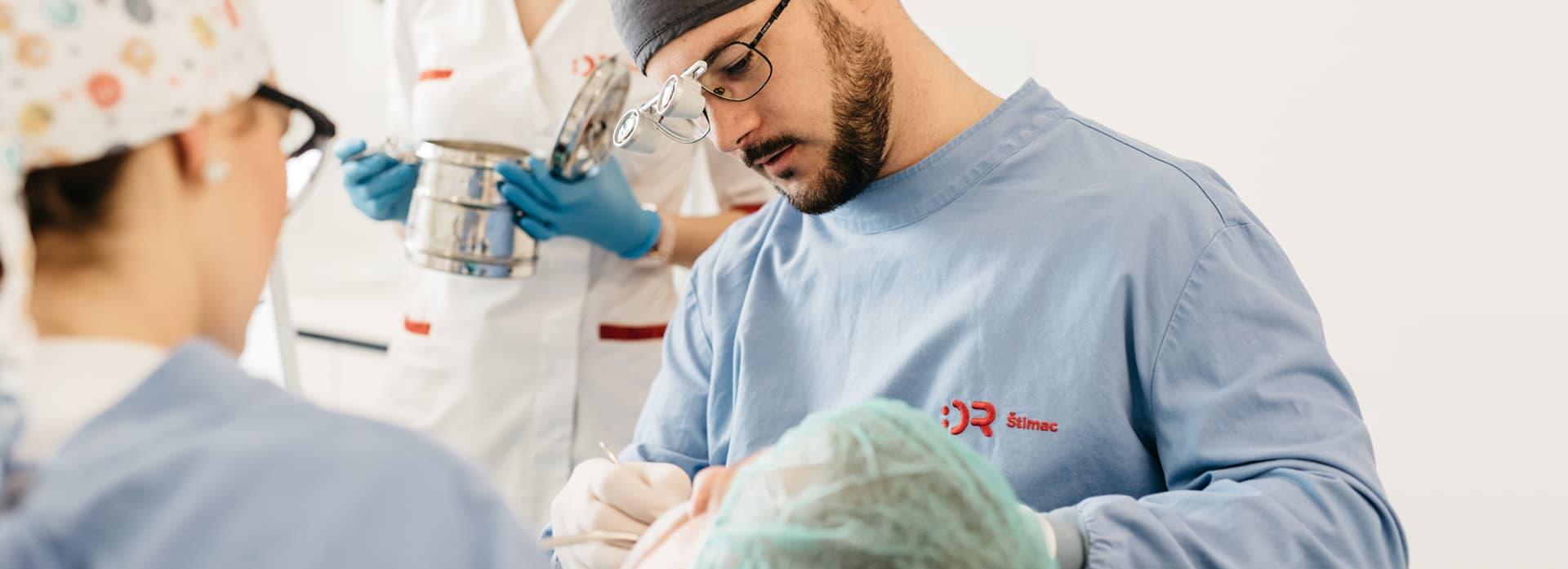 Chirurgia orale Croazia - Centro Dentale Štimac
