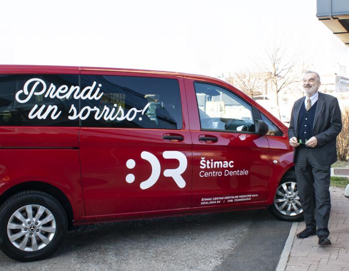 Per voi organizziamo il trasporto andata e ritorno dall'Italia - Centro Dentale Štimac